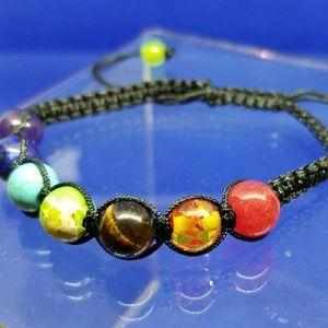 🍎3/$30 SALE 🍎Chakra Rope Bracelet